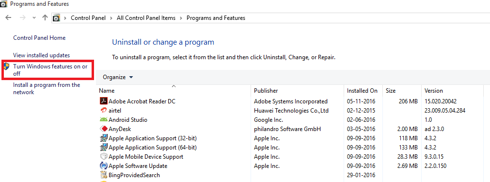 Windows 10: 'telnet' is not recognized as an internal or external command, operable program or ...
